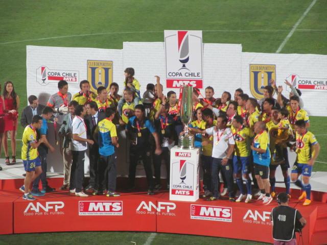 U. de Concepción es campeón de copa Chile