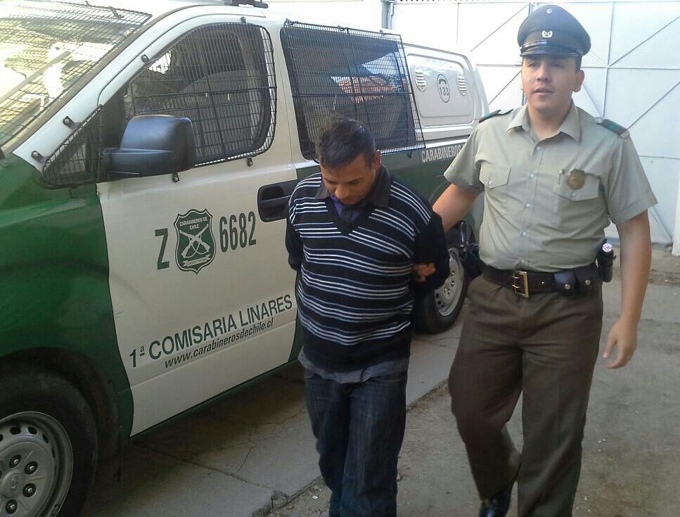 Carabineros detiene a sujeto que asaltó a mujer en pleno centro de Linares