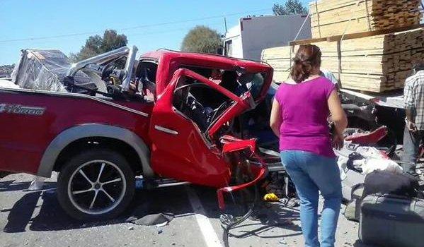 Dos muertos y dos heridos fue el resultado de un choque en ruta San Javier-Constitución