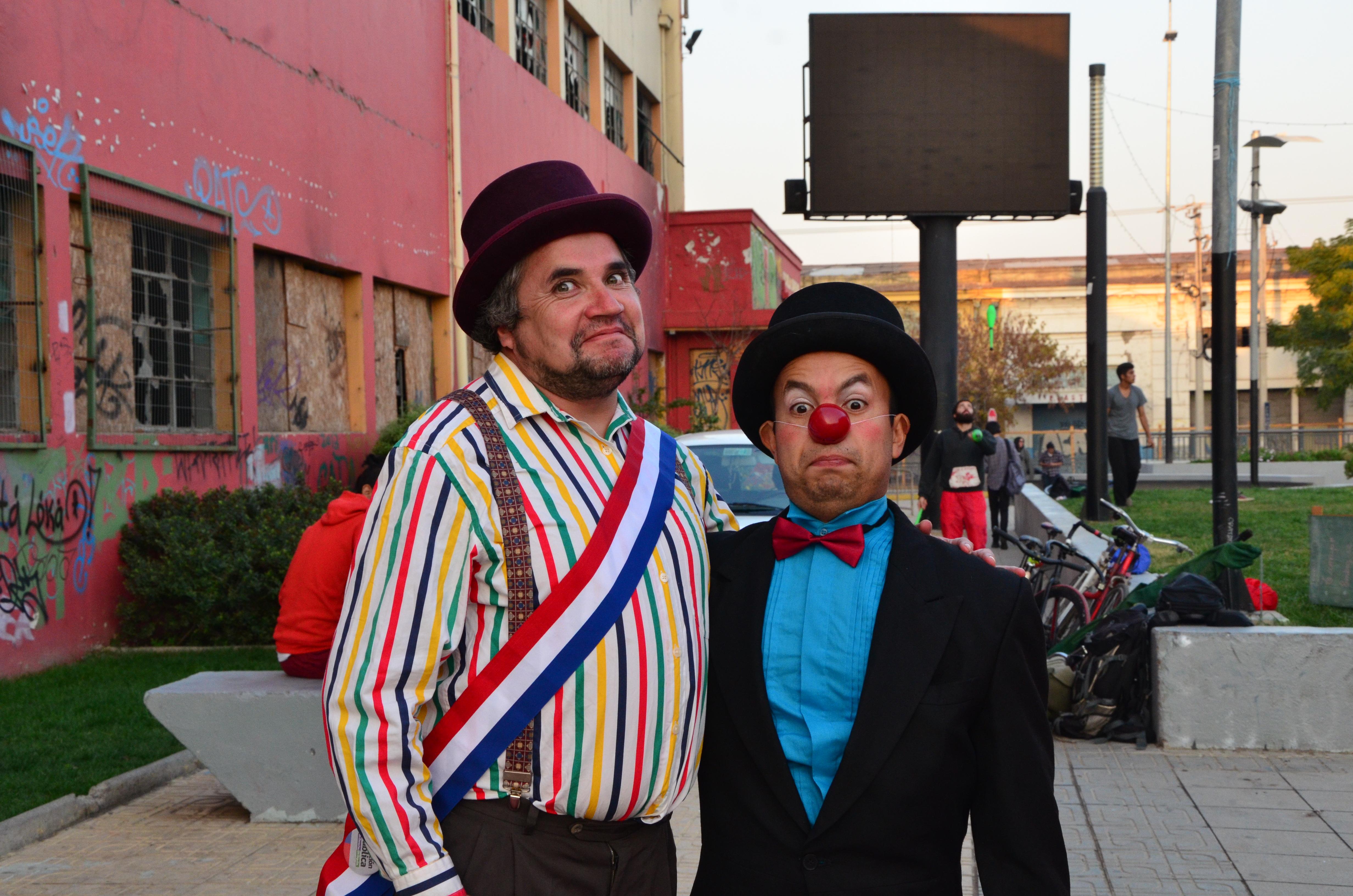 En Talca celebraron el dia internacional del Circo