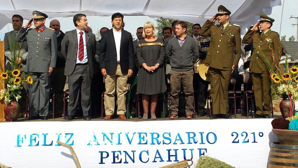 Pencahue celebra sus 221 años de vida