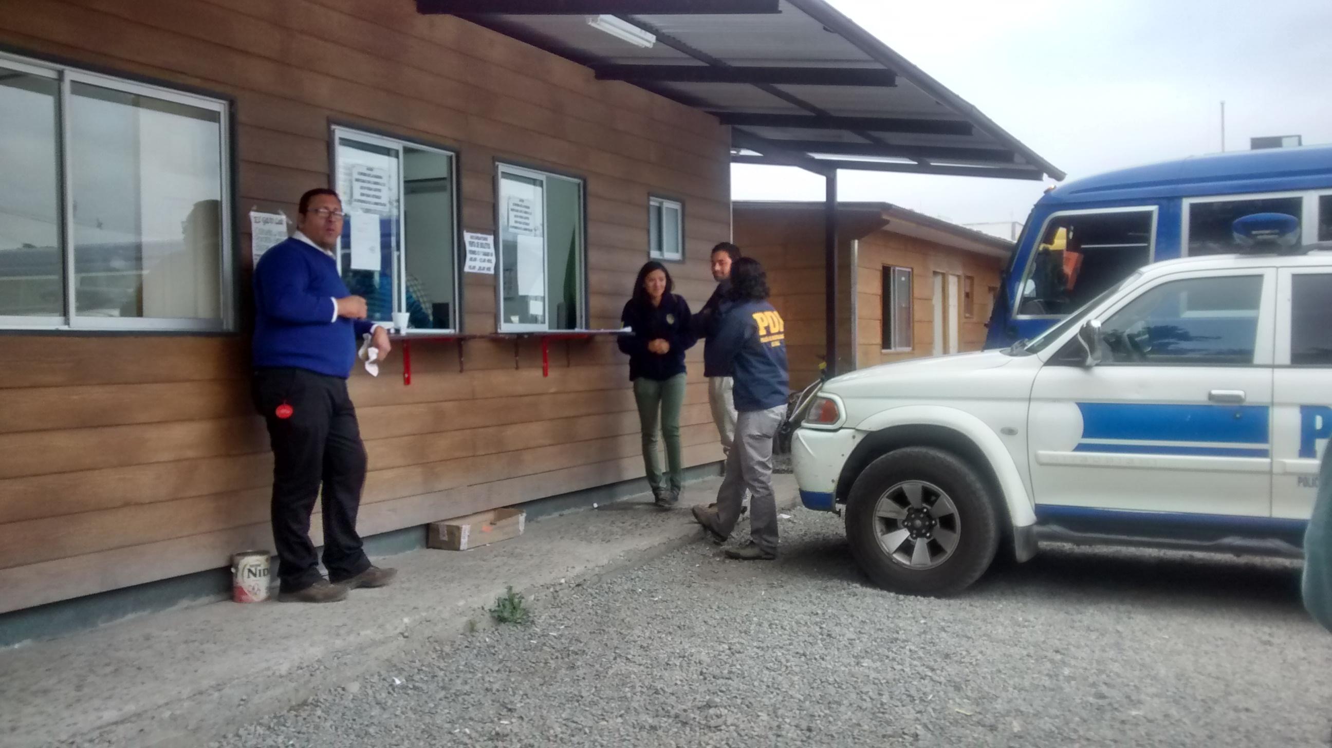 Terror vivió guardia tras violento asalto a oficinas de Interbus en Talca