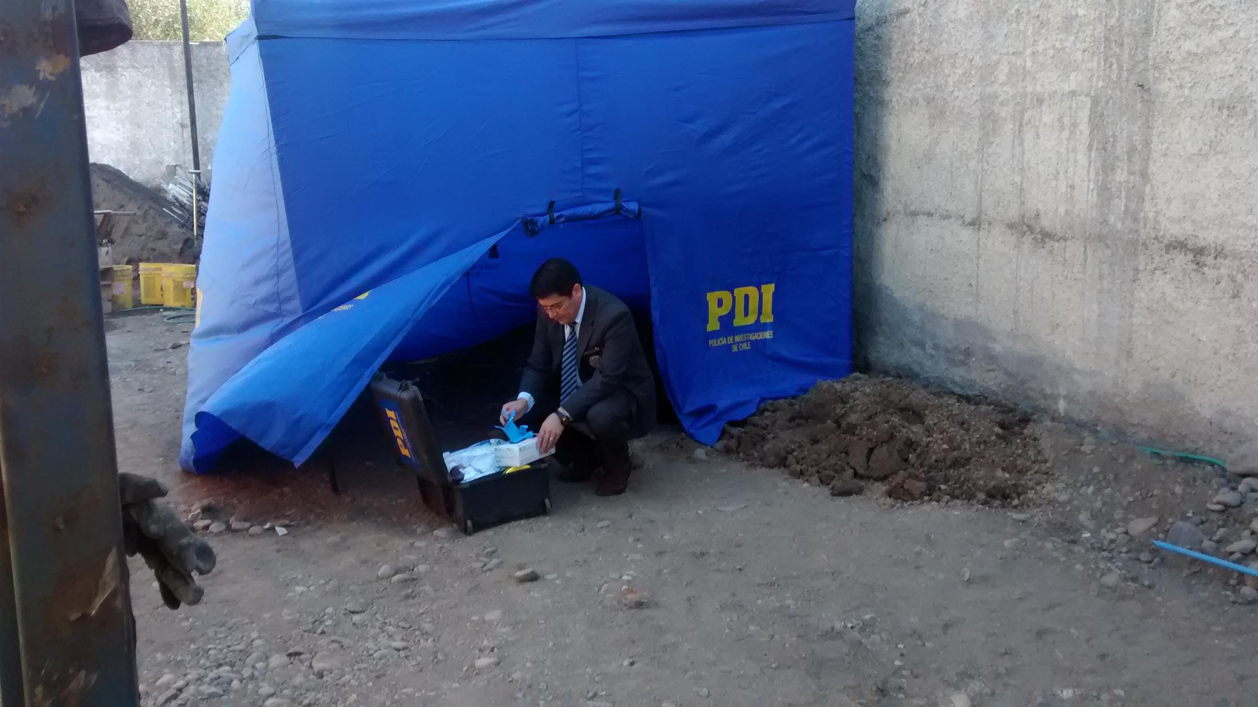 Peritos de la PDI investigaran causa de muerte de hombre encontrado en Talca