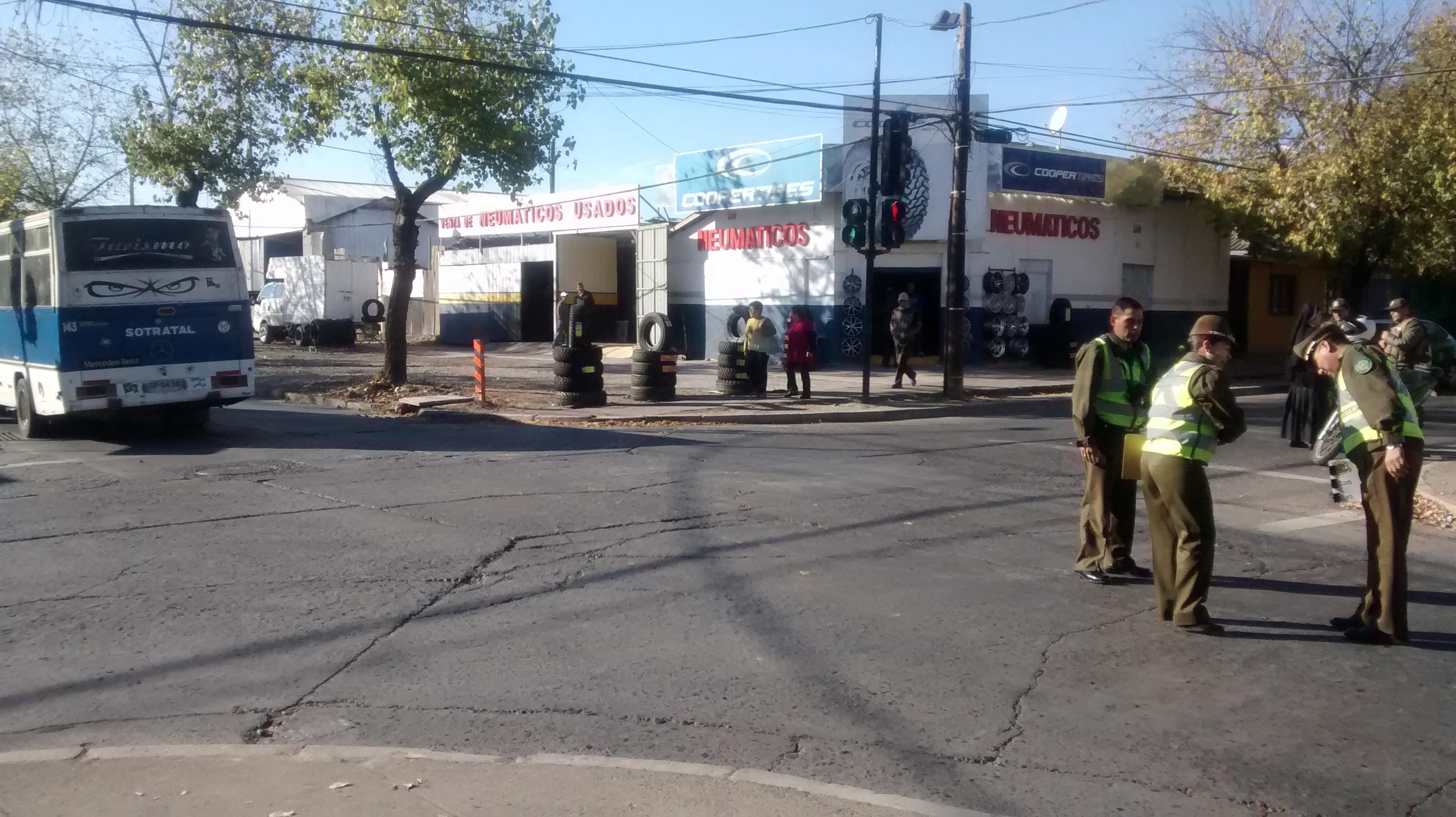 En riesgo vital alumna del Liceo Santa Marta atropellada esta tarde en Talca