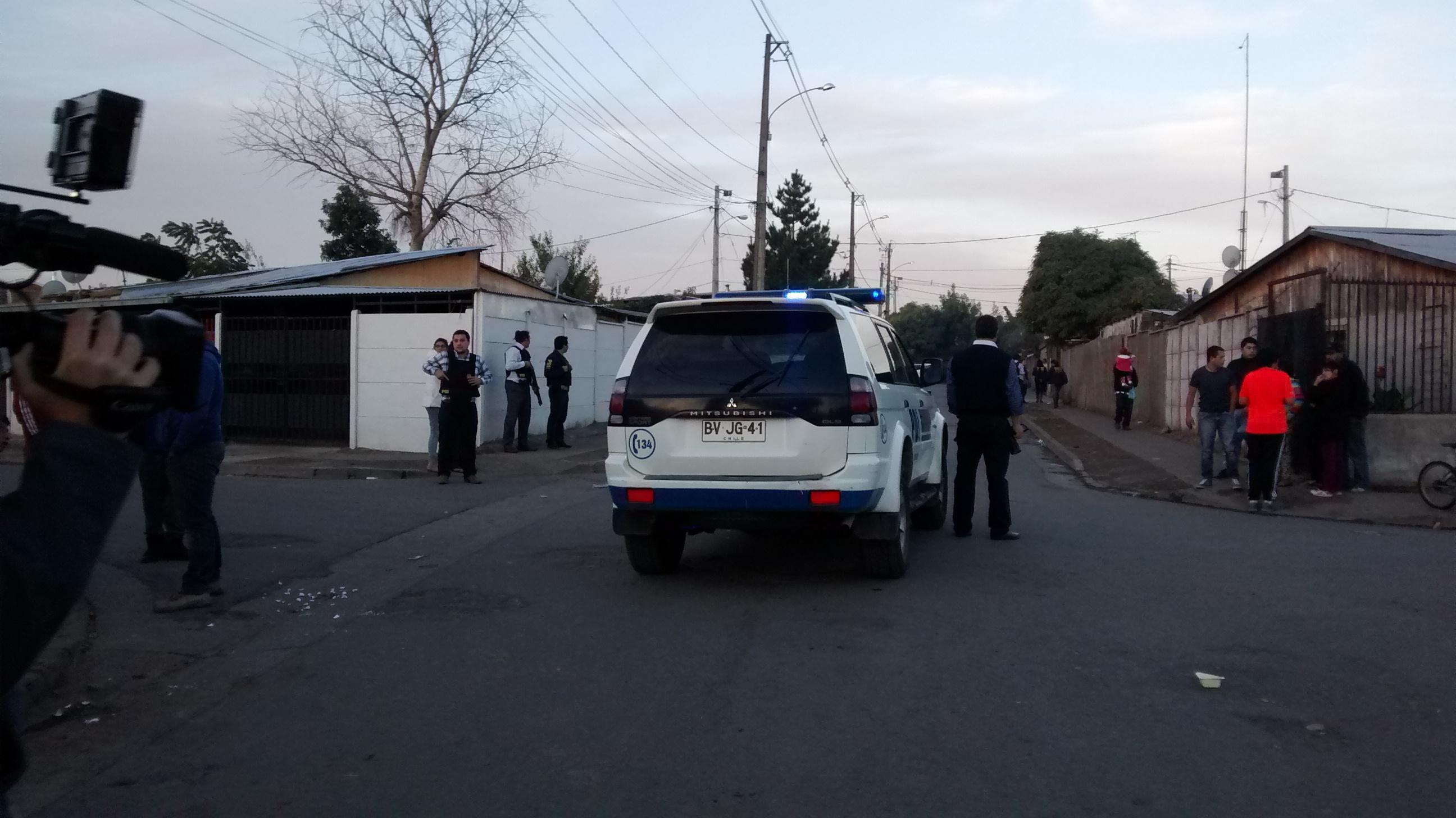 Dos muertos dejó riña en población San Miguel del Piduco de Talca