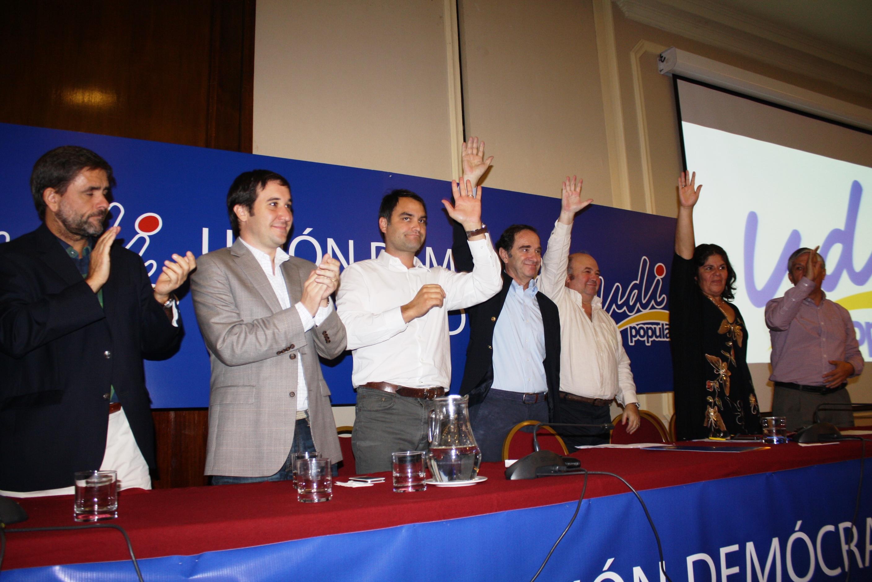 Senador Larraín afirmó que es necesario trabajar con unidad al asumir presidencia de la UDI