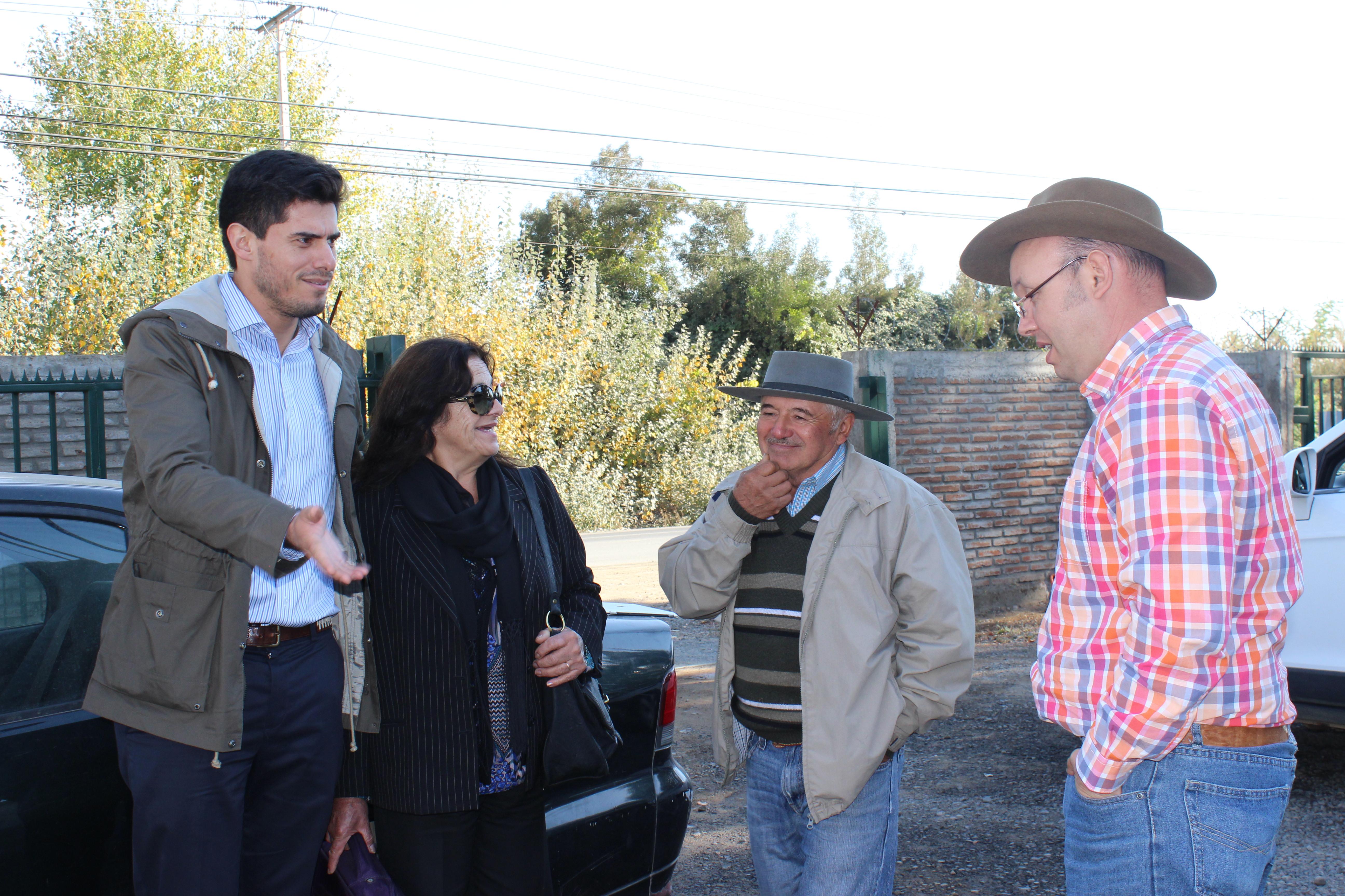 Avanzan gestiones para agua potable rural en sector de Vega de Salas en Linares