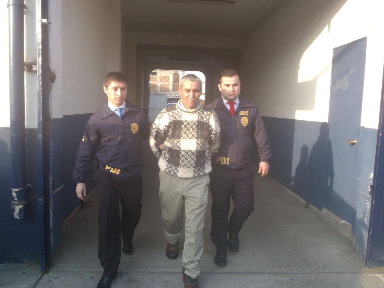 Detienen a peligroso antisocial que el 2010 se fugó de la Cárcel en Talca