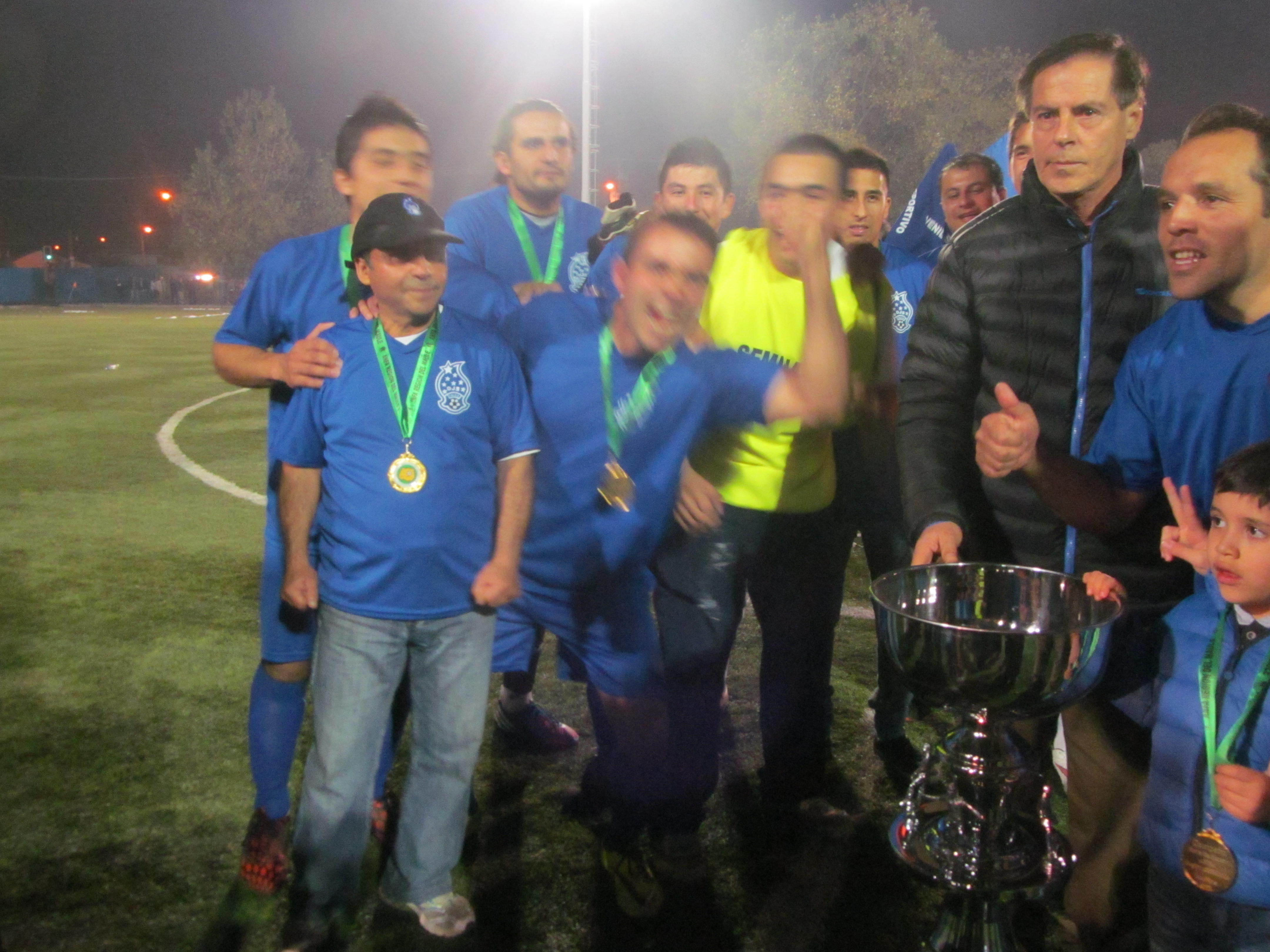 Juvenil Seminario de Talca es Tricampeón de la Copa de Campeones