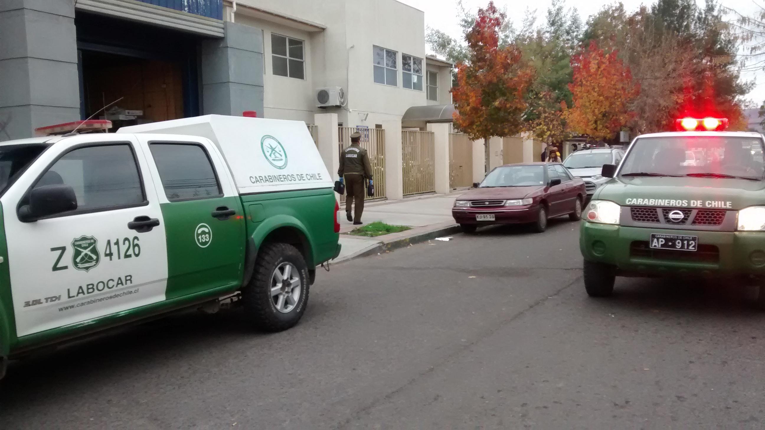 Delincuentes nuevamente ingresan a dependencias del departamento del tránsito en Talca