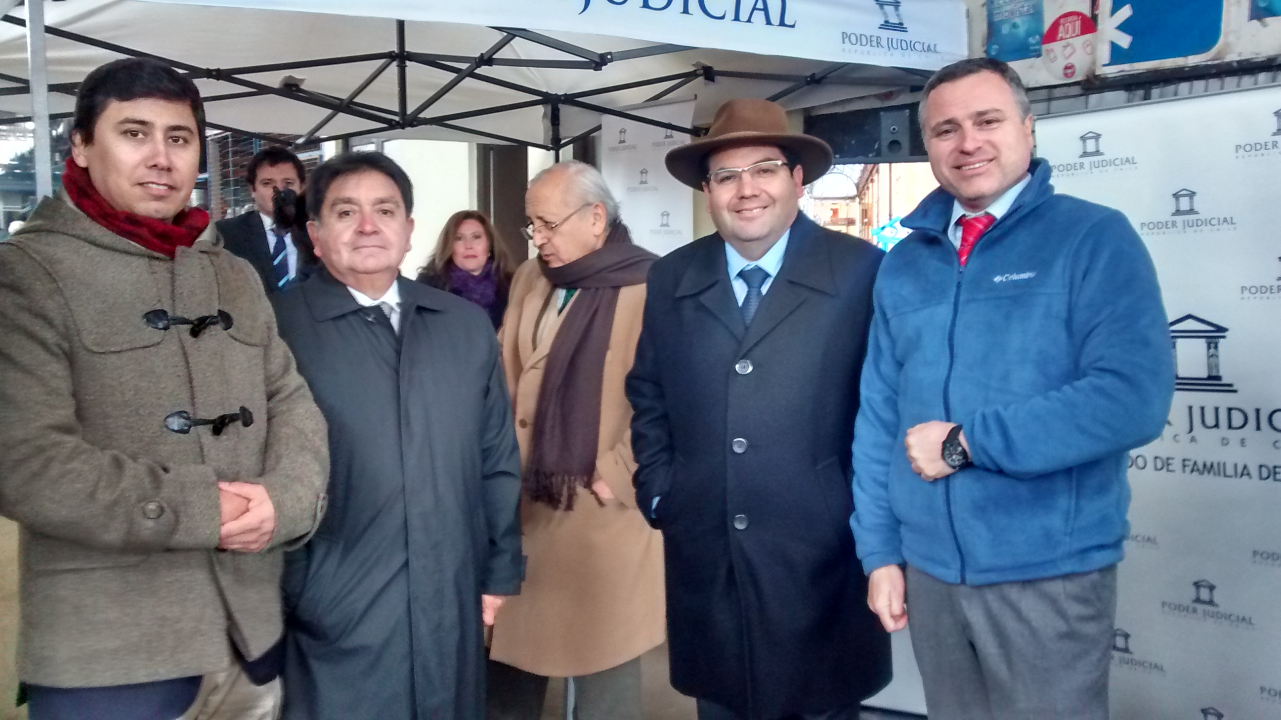 Novedosa Plaza de Justicia realizaron en el Crea de Talca