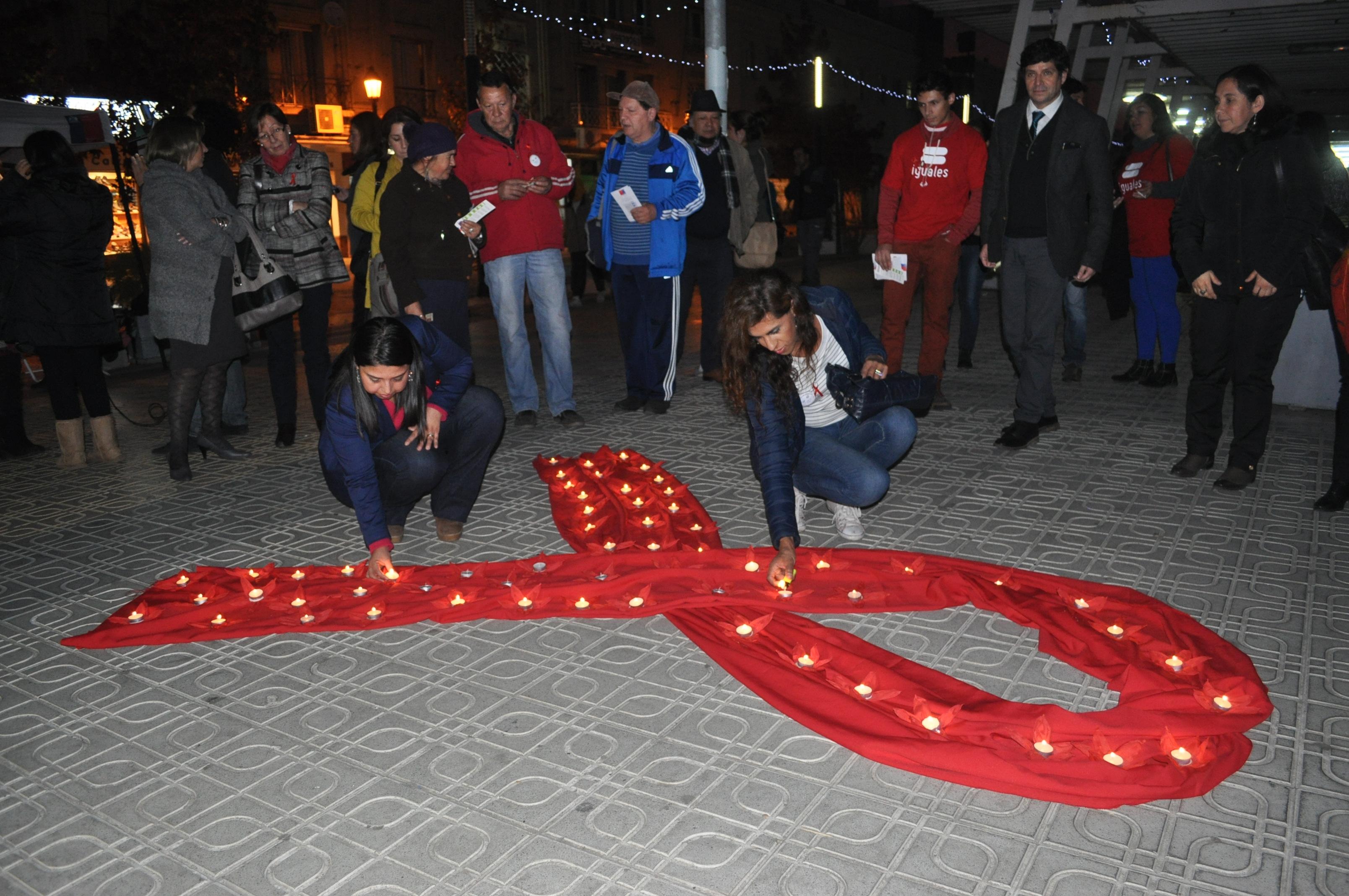 """Conmemoran """"Día"""" de las personas fallecidas por VIH/Sida en el Maule"""