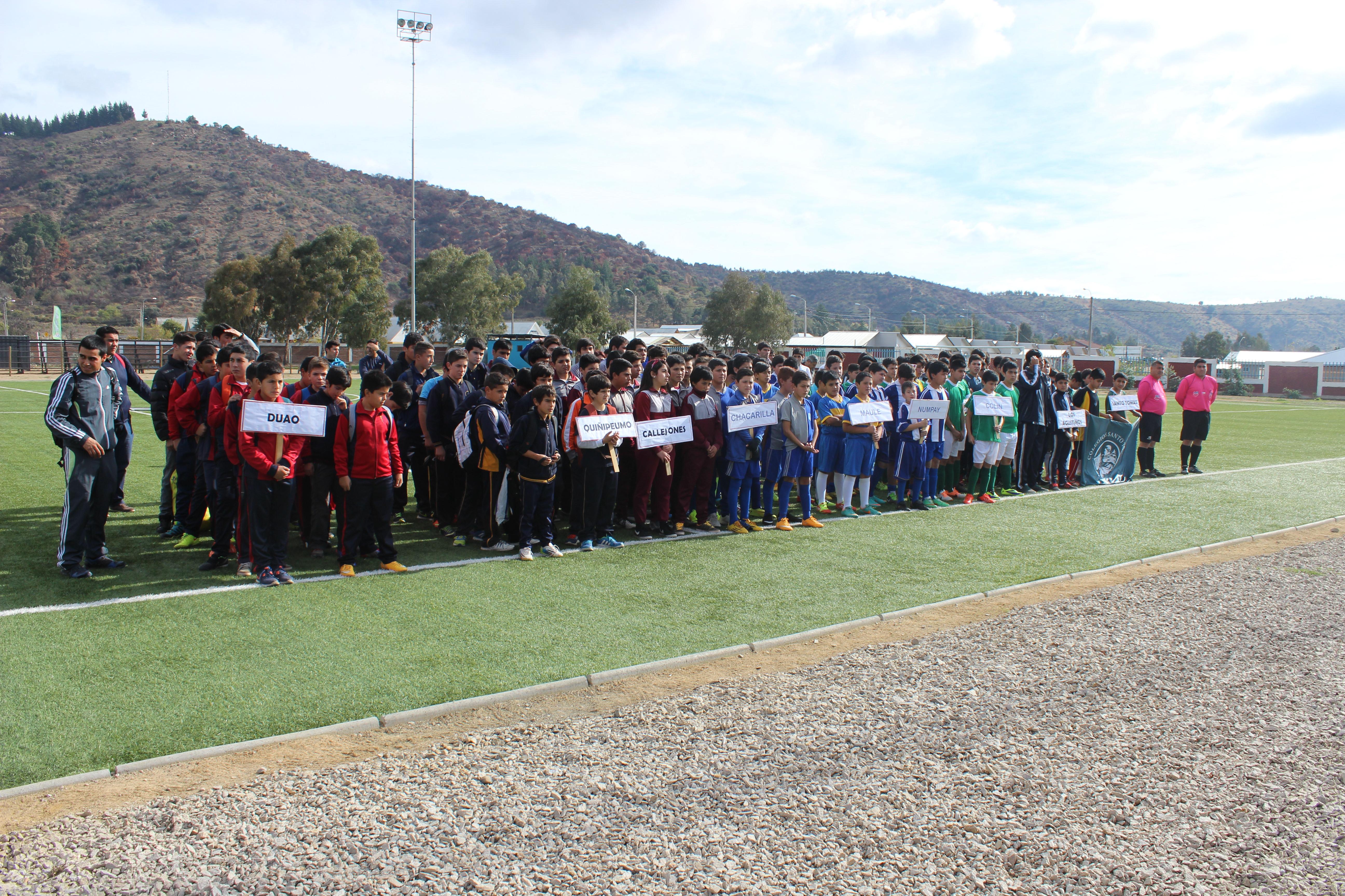 Comenzaron los Juegos Escolares en la región