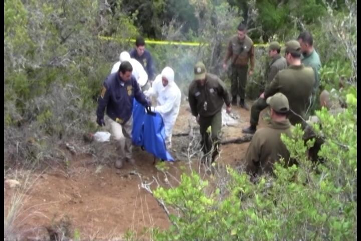 Levantan cuerpo de piloto de la avioneta caida en San Clemente