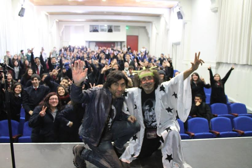 Importantes artistas nacionales visitaron la ciudad para promocionar las escuelas de rock