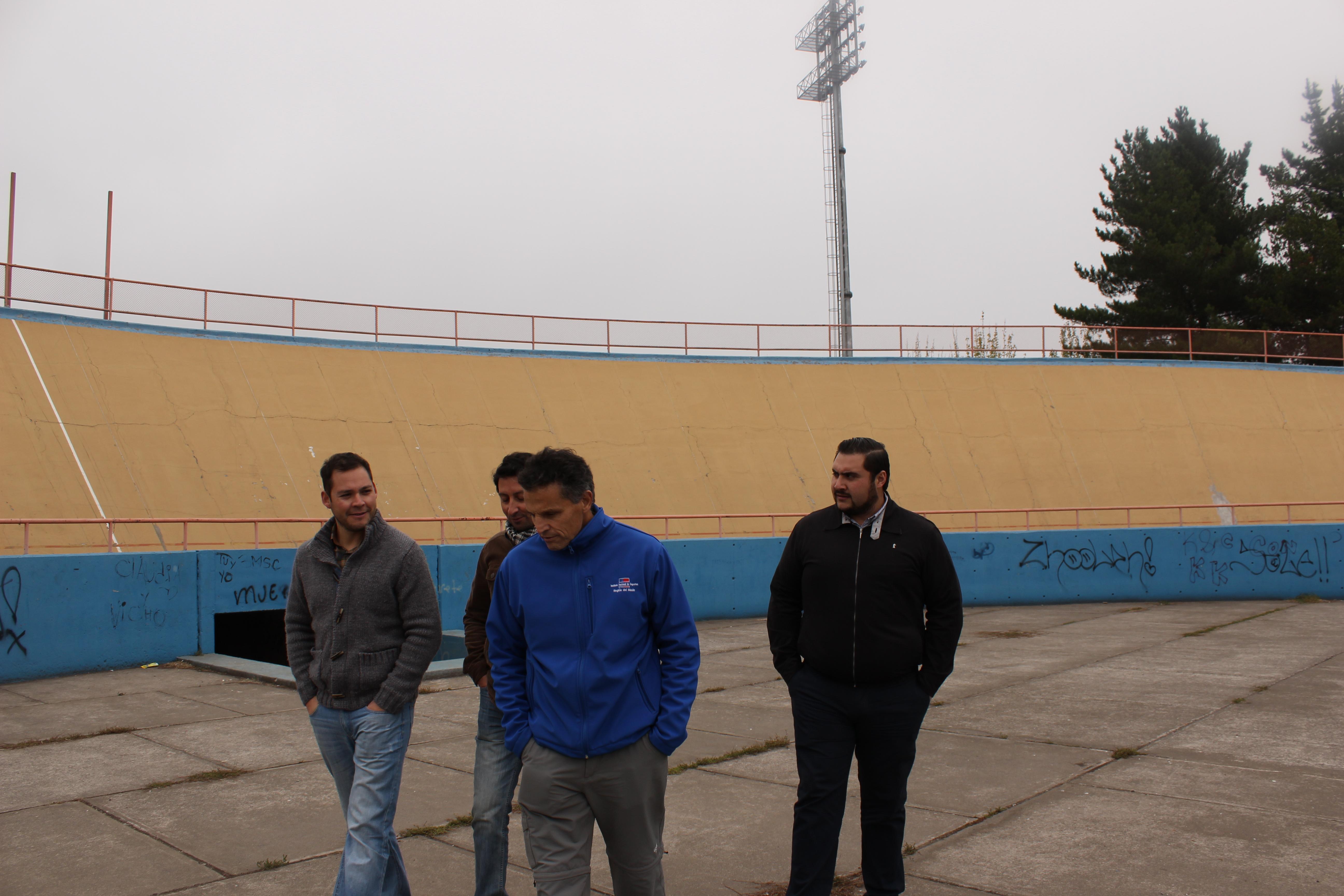 Visita a recintos deportivos en la Región del Maule