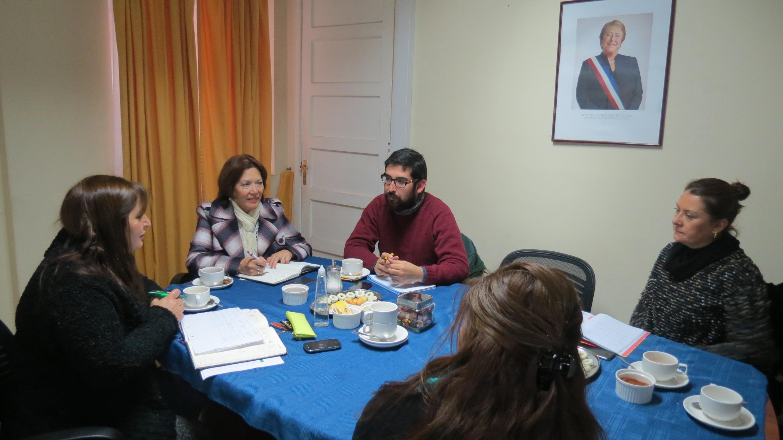 Subcomité de Seguridad Pública coordina actividades de simulacro de emergencia en provincia de Talca