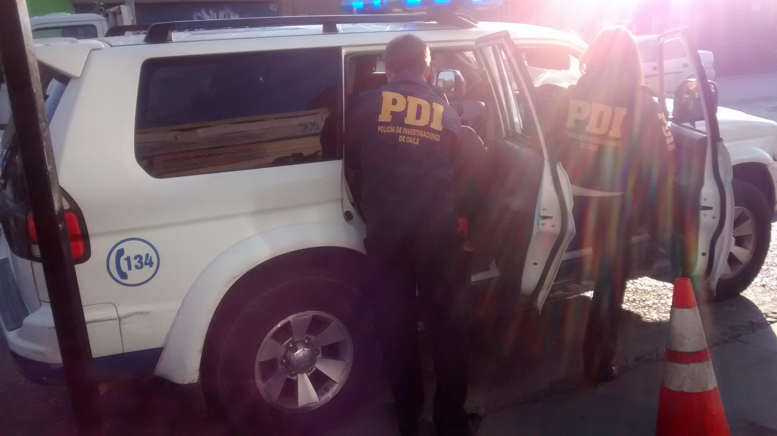 PDI esclareció falso secuestro y violación a joven en Talca