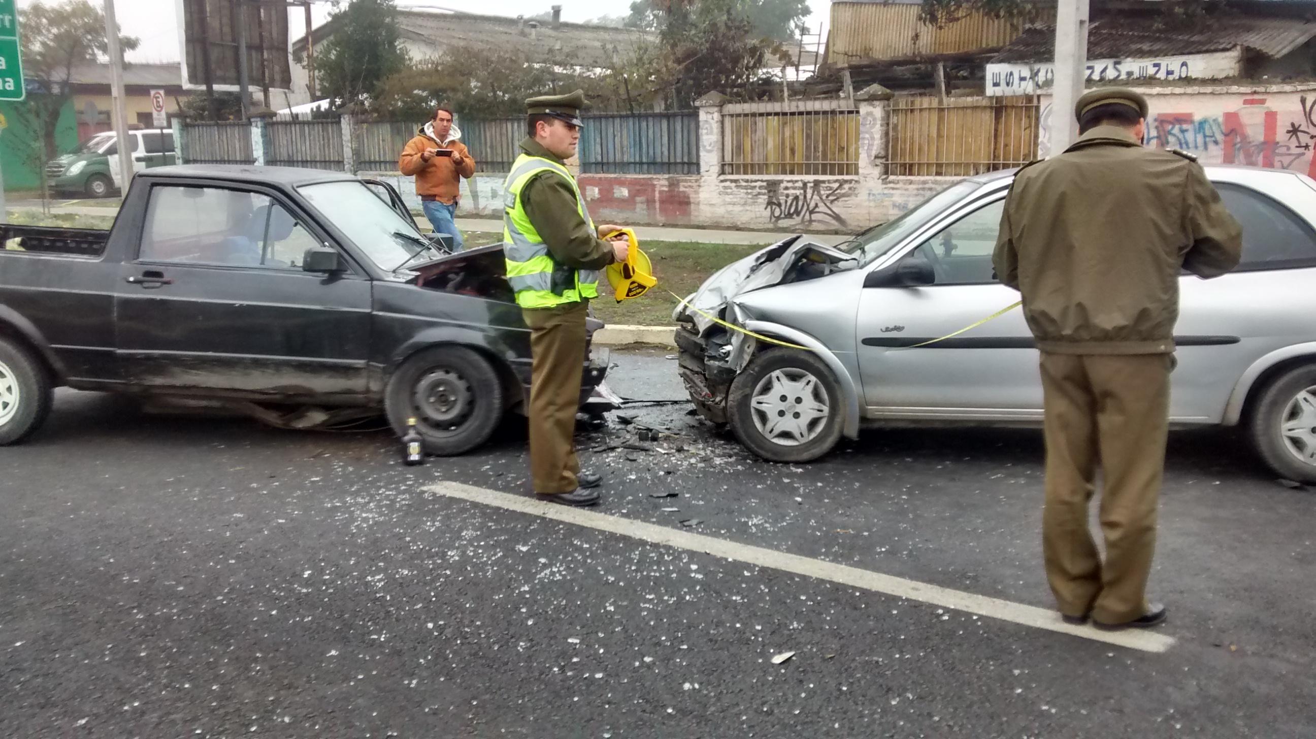 De alta conductor que protagonizó accidente de tránsito en Talca
