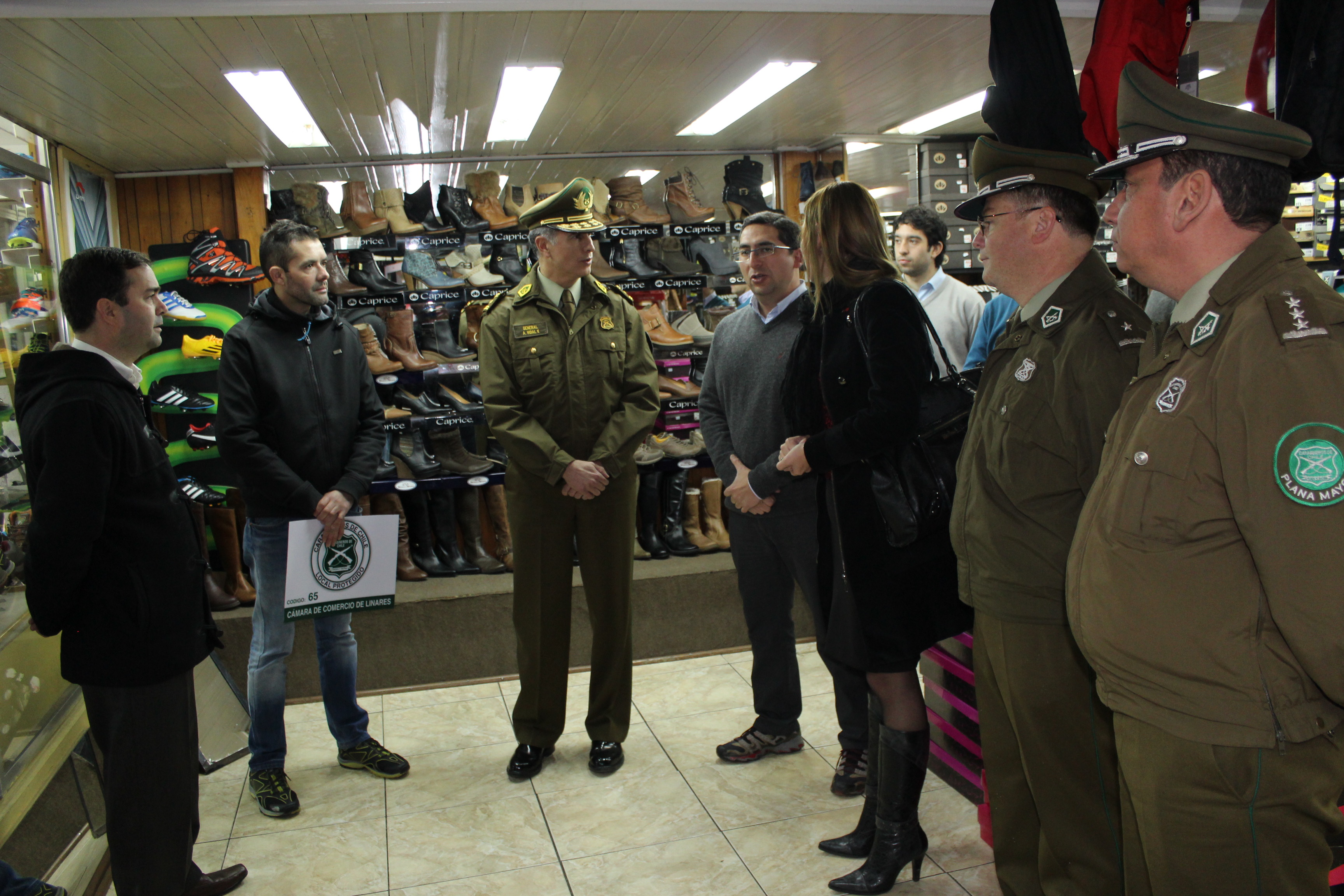 Firman alianza para la seguridad en Linares