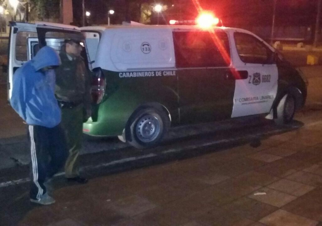 Operativo de Carabineros termina con cinco detenidos en Maule