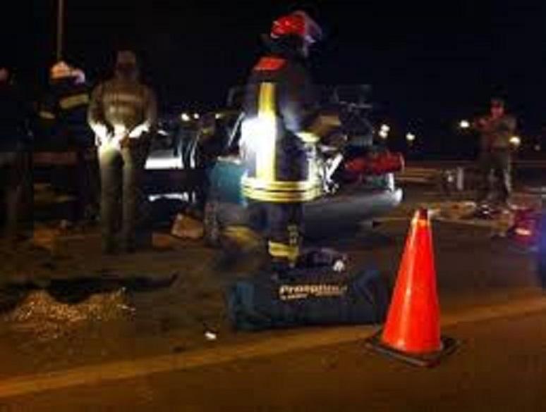 Tres muertos y dos heridos deja accidente carretero en Lontué