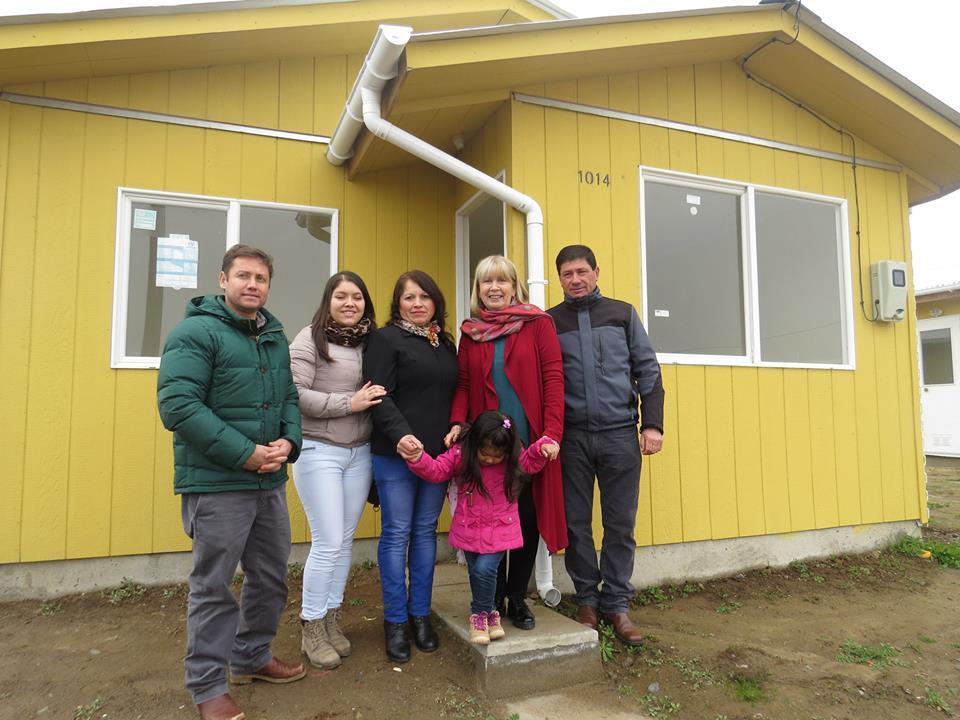 Familias de Pencahue cumplen el sueño de la casa propia