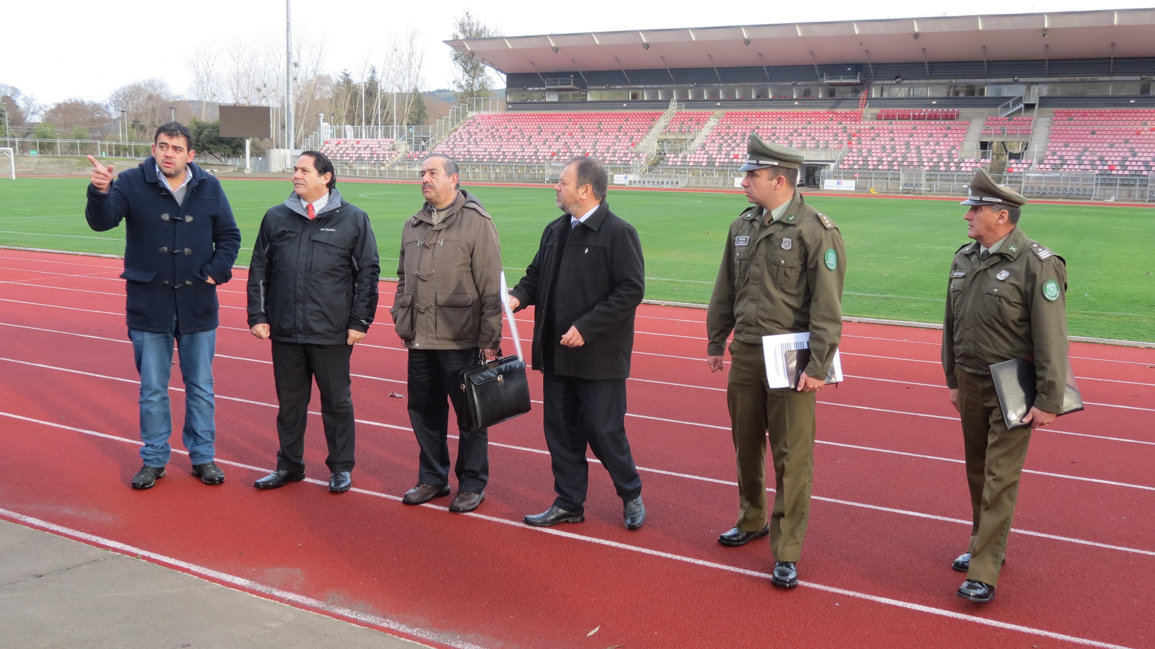 Toman medidas de seguridad por partidos de Copa Chile en Talca