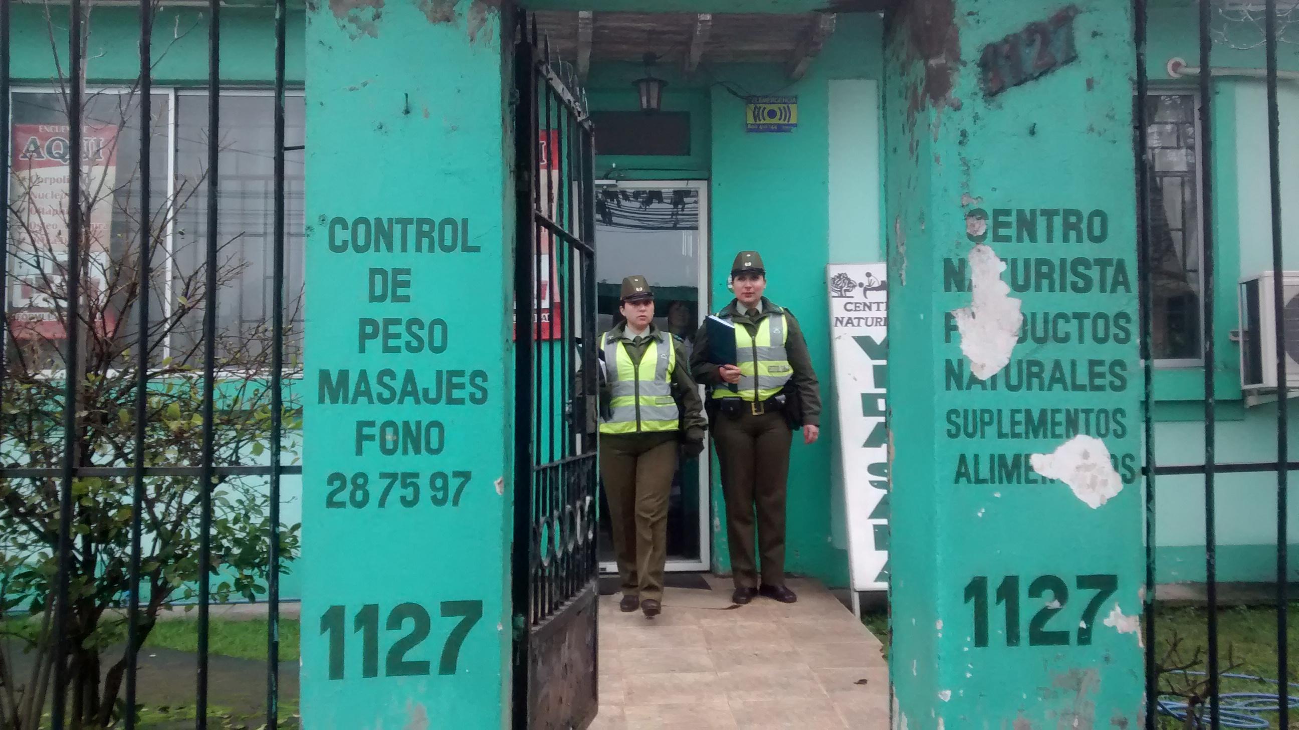 Dos detenidos en frustrado robo a céntrico local de Talca