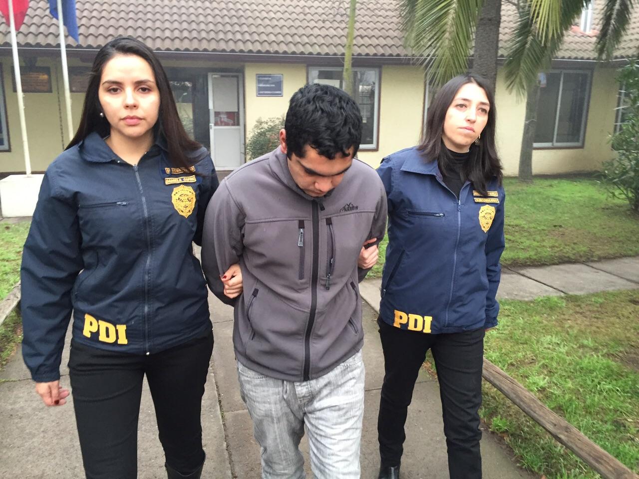 PDI detiene a hombre que violó y embarazó a niña de 12 años