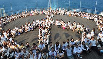 """INJUV y Embajada de Japón, llaman a postular a jóvenes  para ser parte del """"Barco"""" Juventud 2015"""