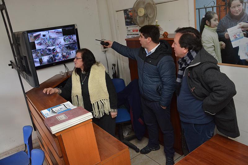 Mejoran sistema de seguridad en Terminal de Buses en Talca