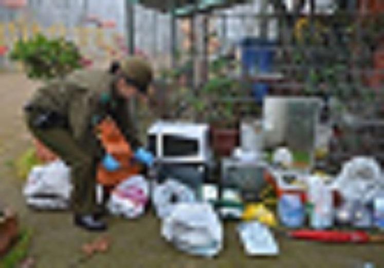 Carabineros desbarata cuantioso robo en parque de juegos en Talca