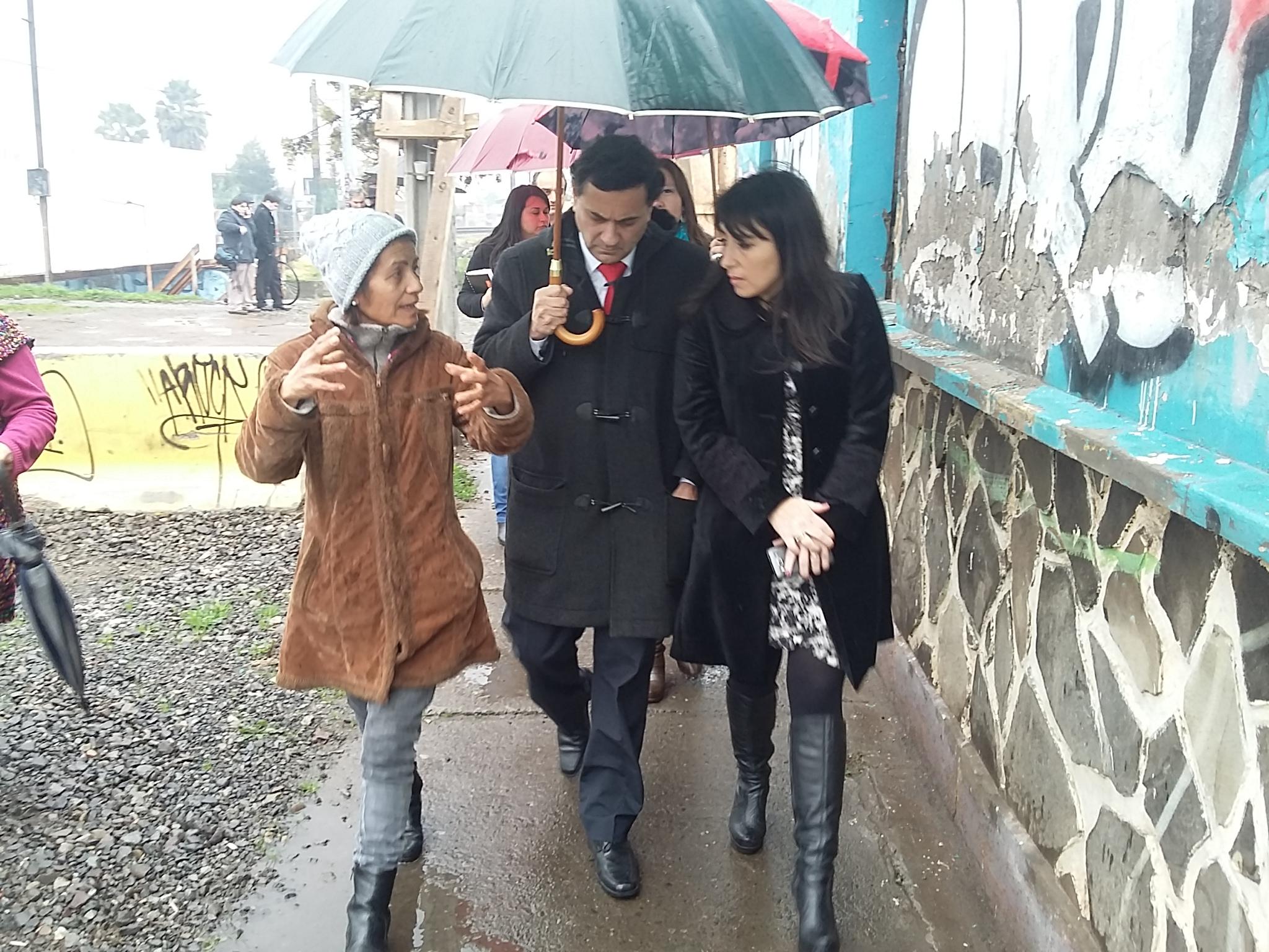 Llaman a la prevención ante frente de mal tiempo en Curicó
