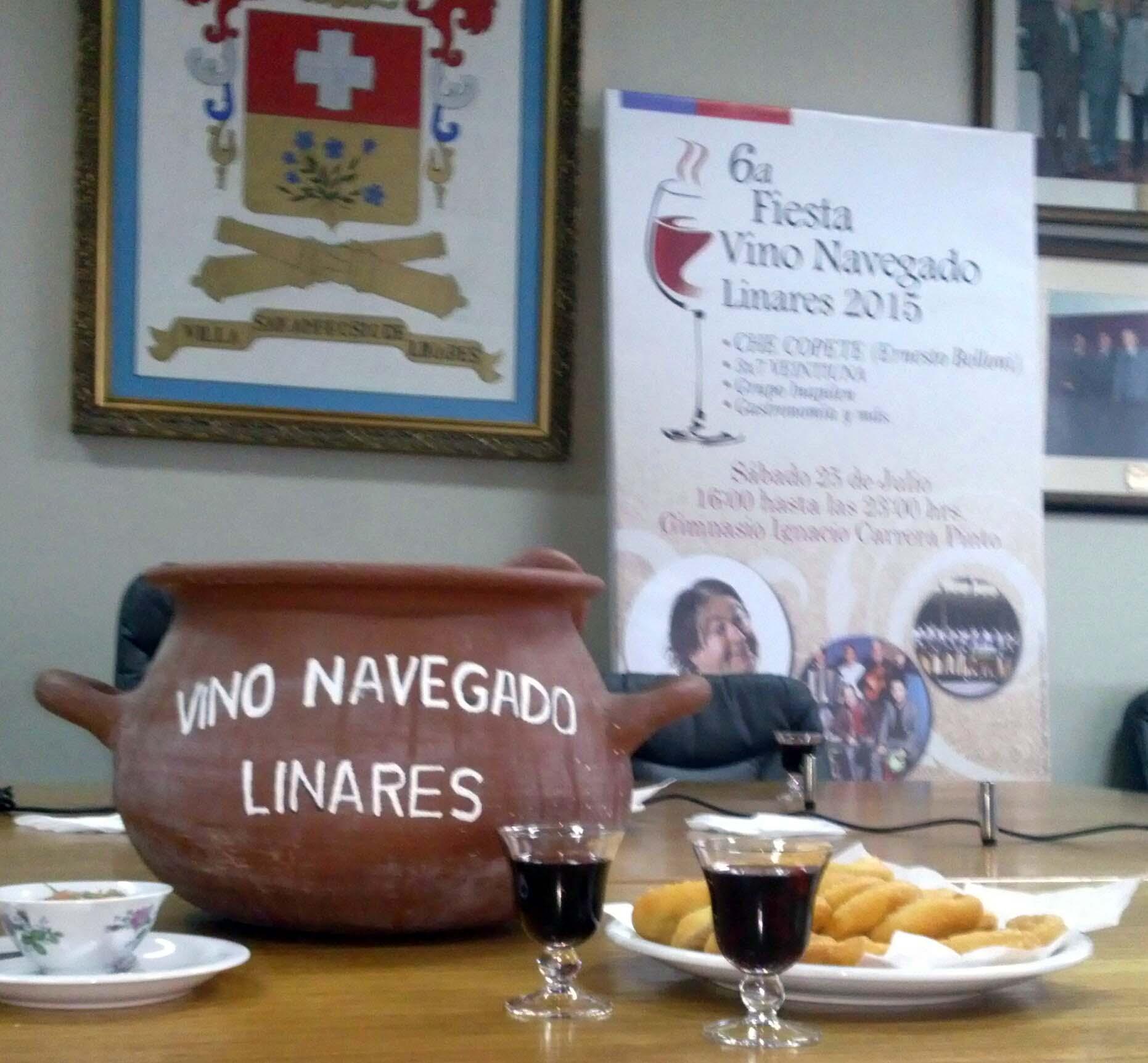 """Municipalidad de Linares invita a celebrar la """"Fiesta Nacional del Vino Navega'o"""""""
