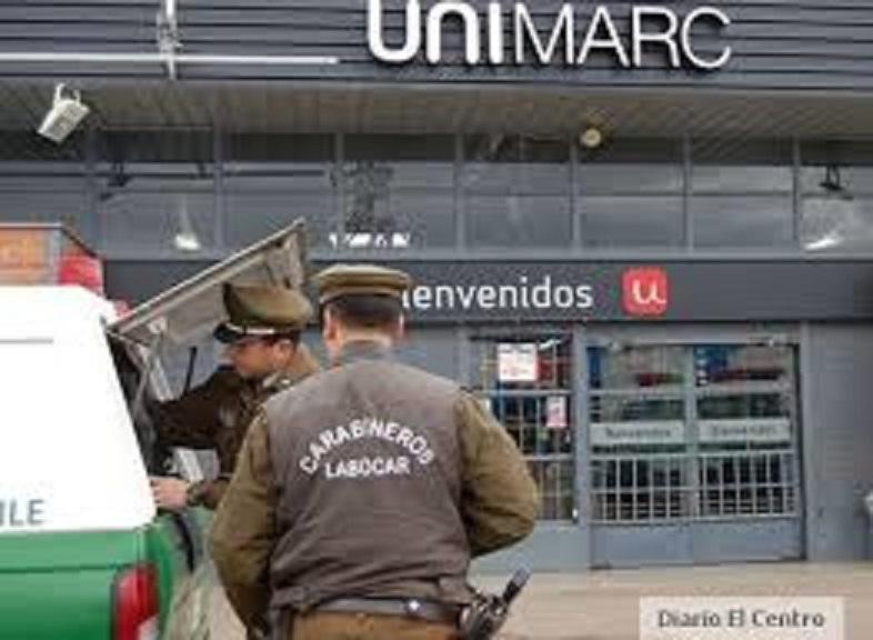Millonario robo a supermercado en Talca