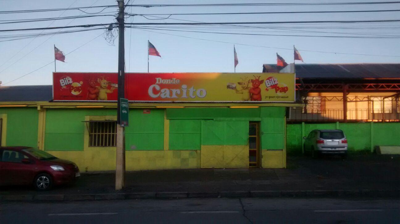 Violento asalto a mano armada a local de comida rápida Donde La Carito