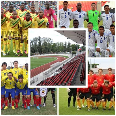 Bélgica, Mali, Honduras y Ecuador jugarán en Talca por la Copa del Mundo Sub 17