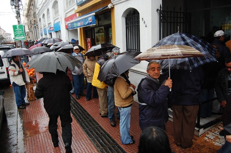 Fuerte sistema frontal afectará a la zona central del país