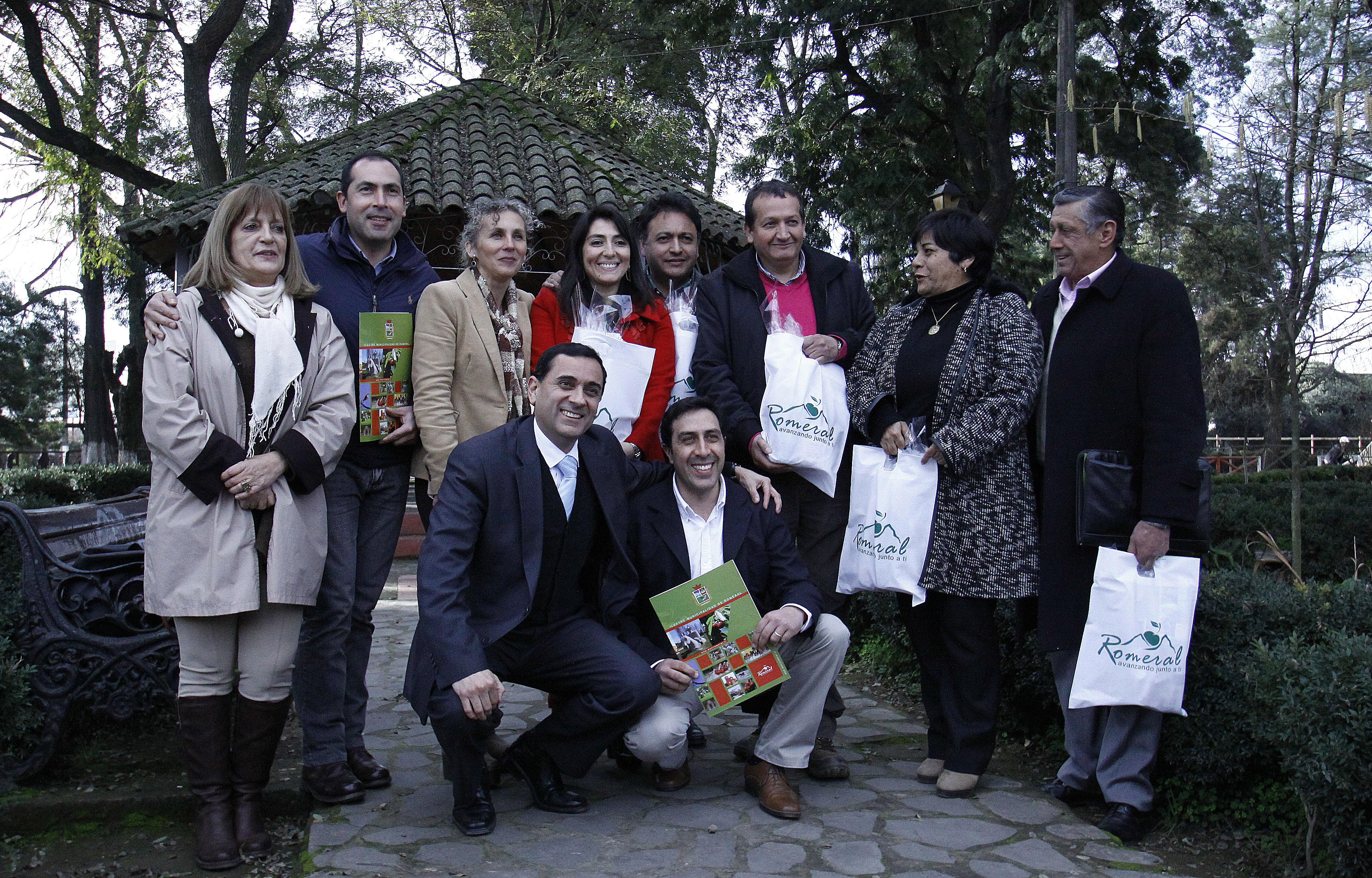 Productiva jornada de Encuentro de Alcaldes de la Provincia realizado en Romeral