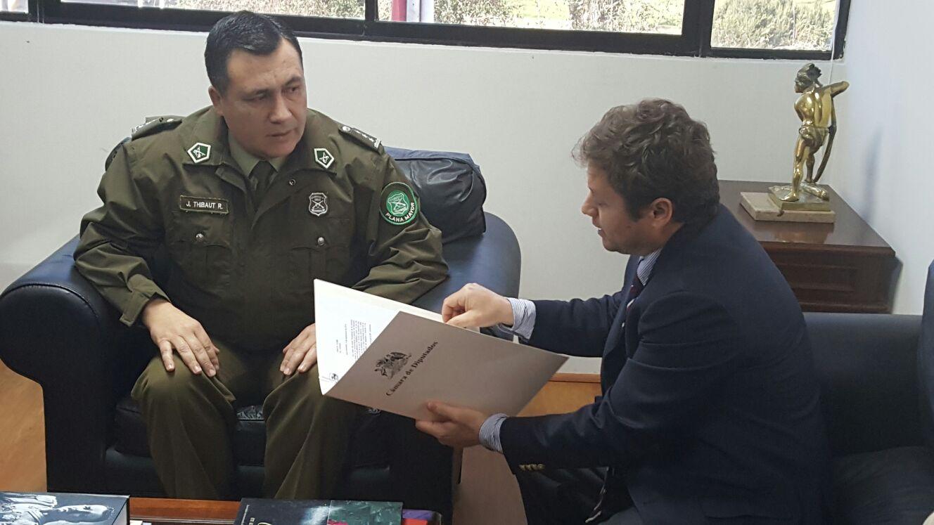 Diputado Álvarez-Salamanca preocupado por plan cuadrante rural en la región