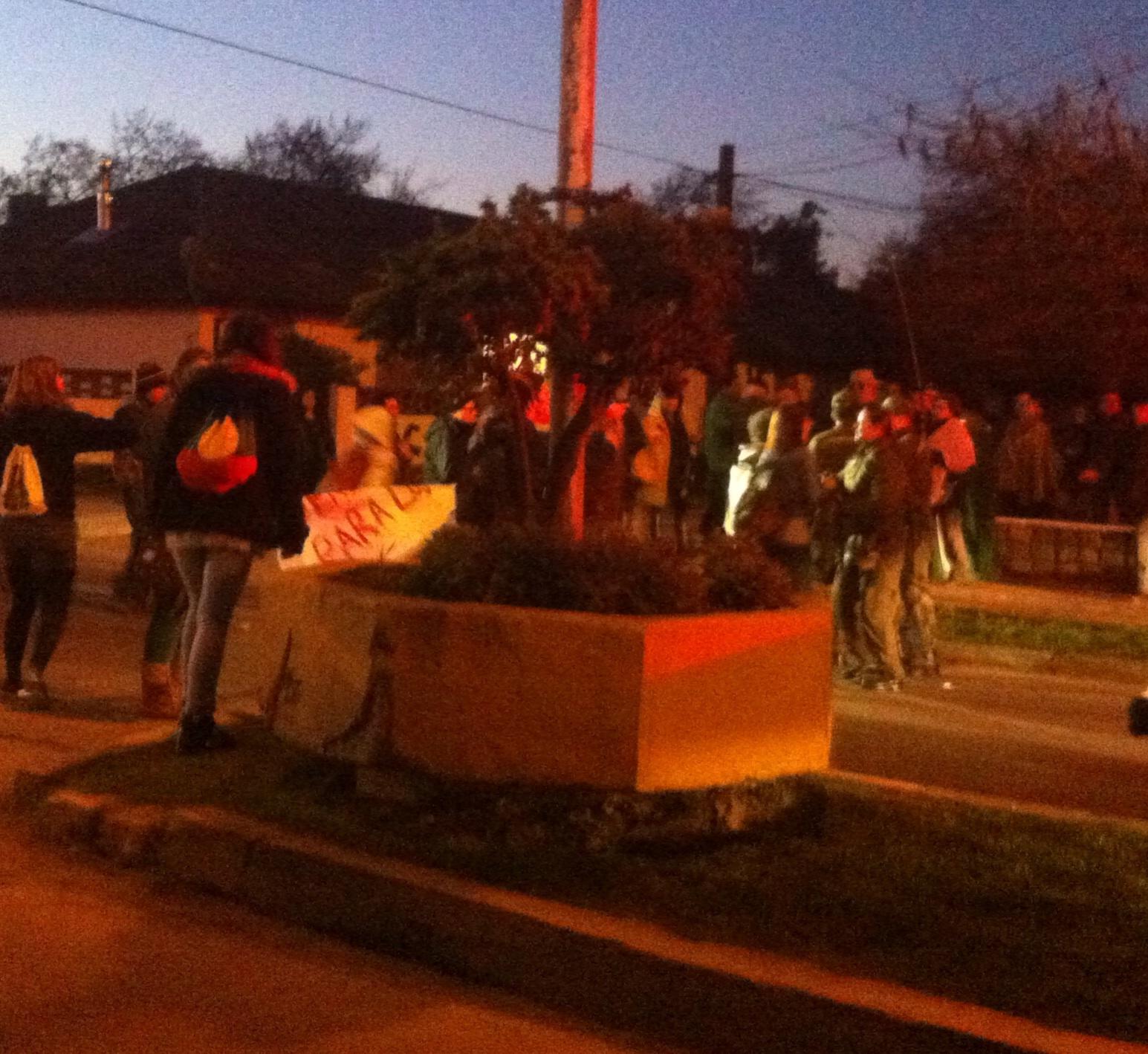 Con incidentes en Linares y barricadas en Talca se conmemoró Golpe Militar de 1973
