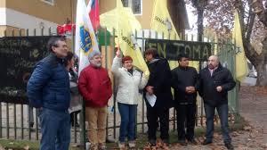 [Video] Funcionarios del Sename comienzan a radicalizar sus movilizaciones en Talca