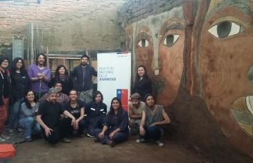 INJUV realiza intervención patrimonial en Molina