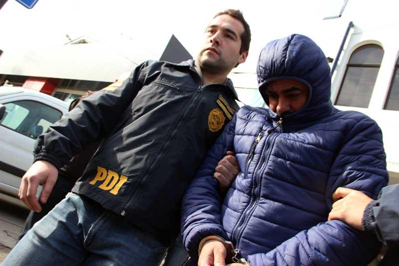 Detienen a hombre acusado de violar a su propia hija en Talca