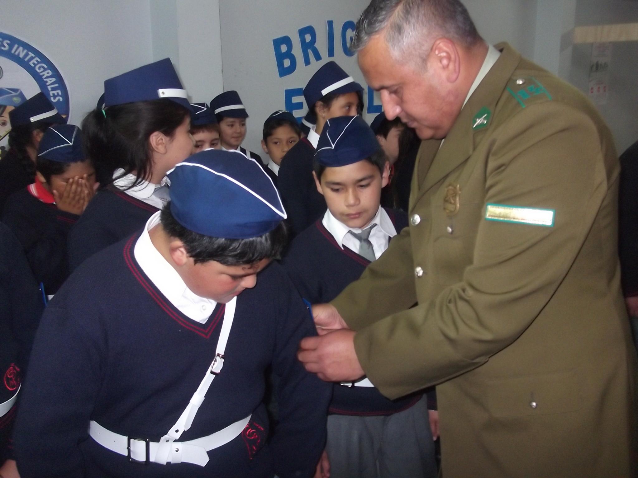 Creación de Brigada Escolar en el colegio Enrique Donn Müller de Constitución