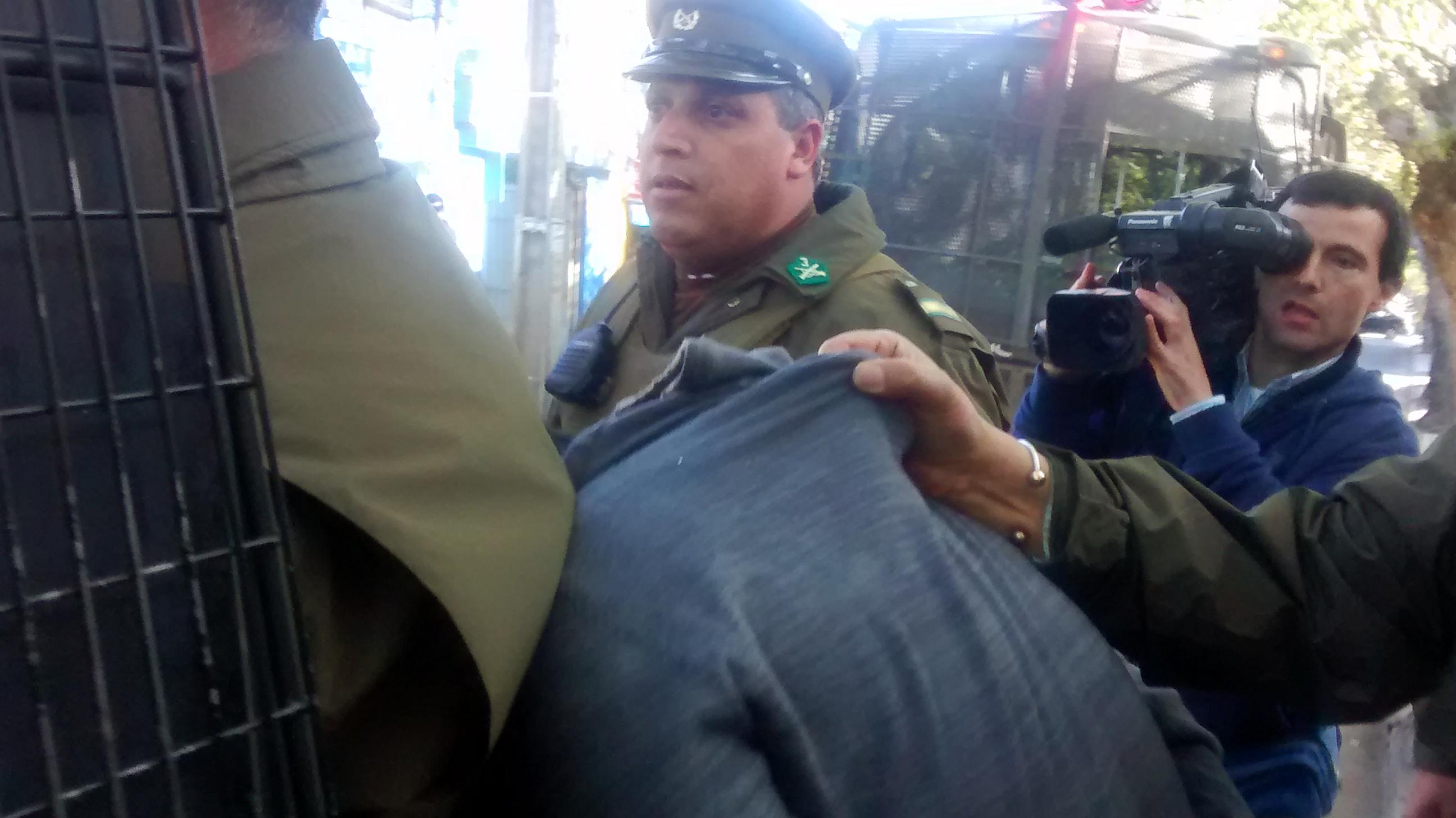 Espectacular operativo para frustrar robo a céntrica tienda de Talca