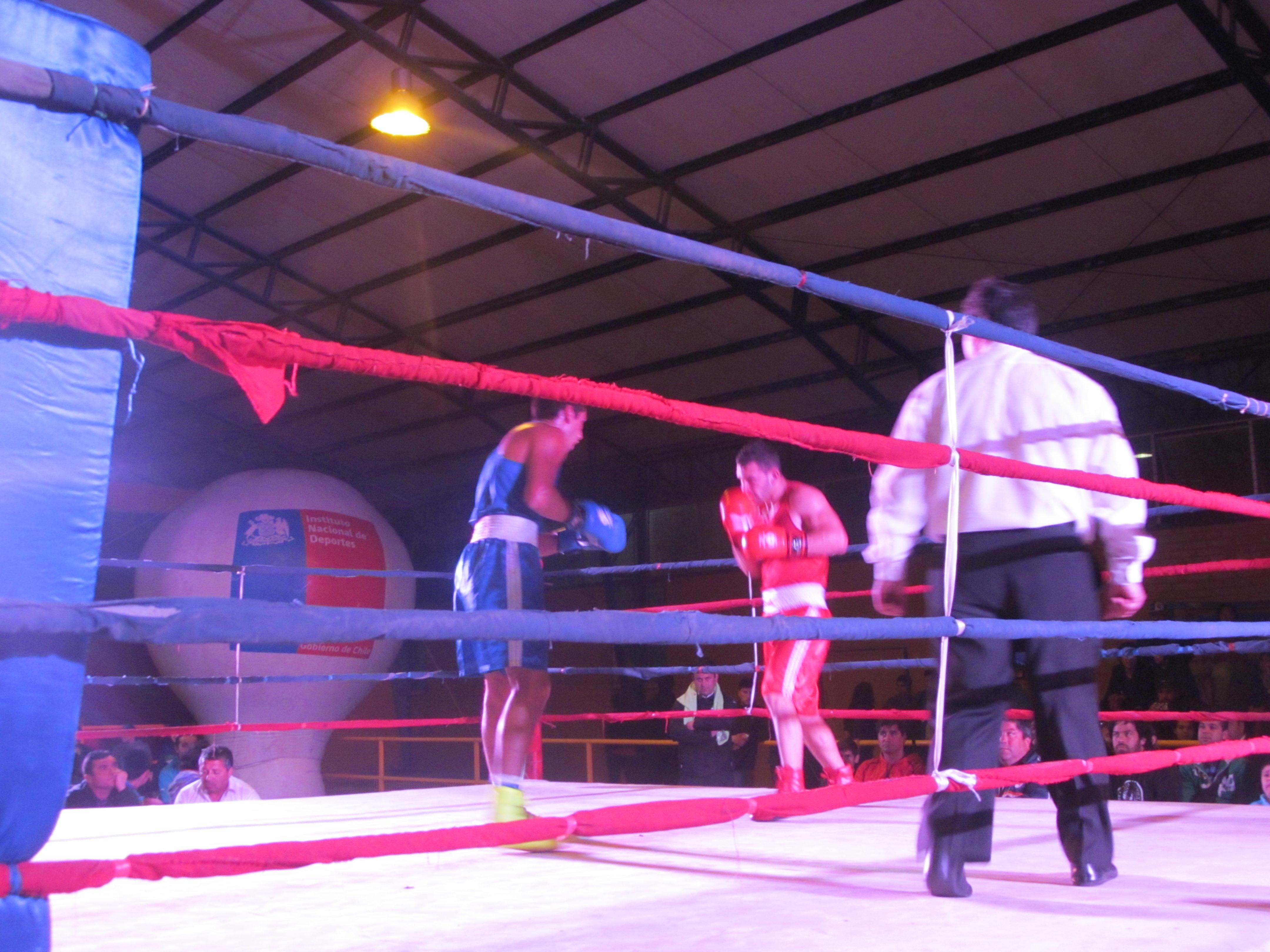 Maule vibró con noche de boxeo