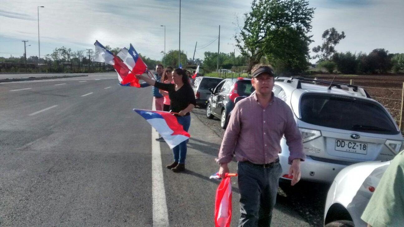 Diputado Àlvarez Salamanca encabeza protesta por inseguridad vial en San Clemente