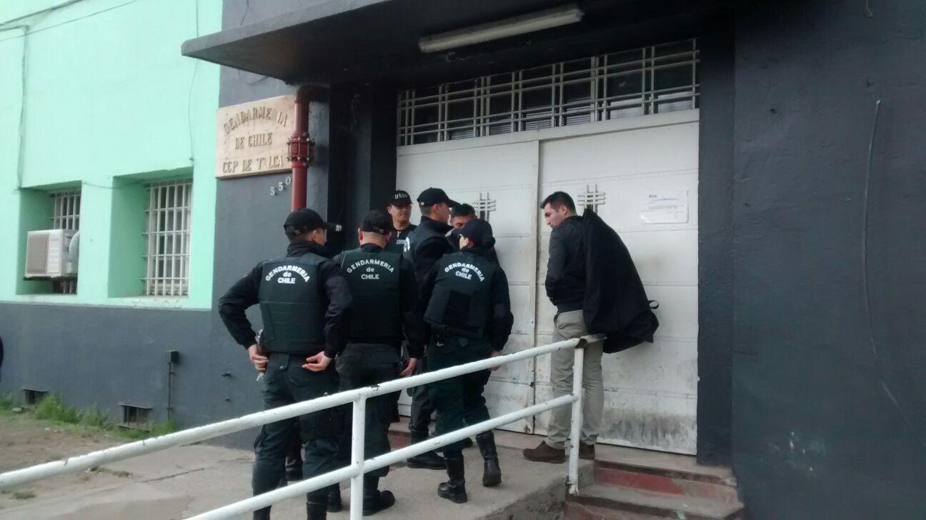 Gendarmería desbarata intento de fuga de 5 reos de cárcel de Talca